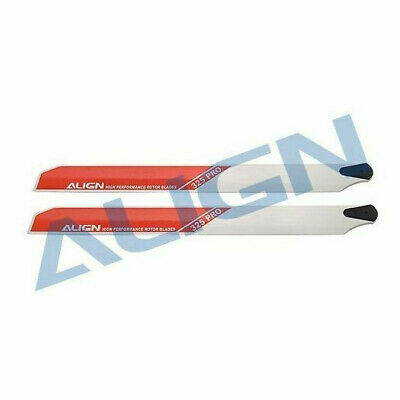 £19.99 • Buy HD322AT Align RC Helicopter Spares 325mm PRO Rotor Blade White For TREX 450 New