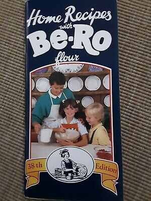 Vintage Home Recipes Be-Ro. 38th Edition.  Excellent Condition • 45£