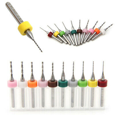 $7.49 • Buy 10Pcs 0.6-1.5mm PCB Print Circuit Board Carbide Mini Micro Drill Bits Tools Wp