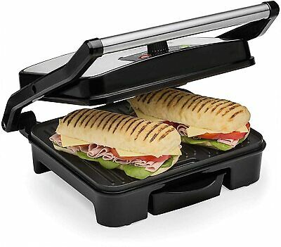£29.99 • Buy Panini Press & Health Grill 2000W With Extra Large Non-Stick Plates Andrew James