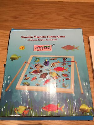£5 • Buy Toys Of Wood ~ Magnetic Wooden Fishing Game