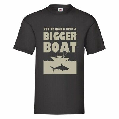 £9.99 • Buy Jaws You're Gonna Need A Bigger Boat T Shirt Small-5XL 16 Colours To Choose From