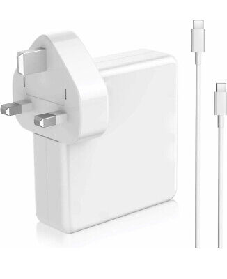 AU26.90 • Buy Replacement 87W USB C Power Adapter Compatible With Macbook Pro/Air Charger