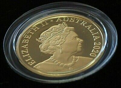 AU34.99 • Buy 2020 Australia Proof 1 Dollar Coin Mor In Capsule From Baby Set.