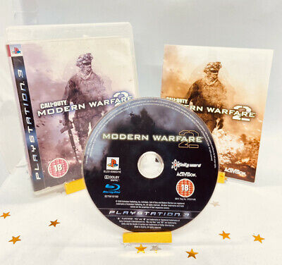 Call Of Duty Modern Warfare 2 (PS3) Game Complete Super Fast Delivery! • 2.79£