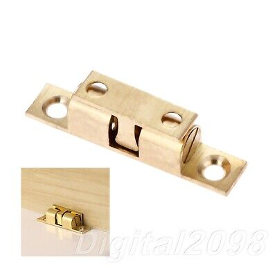 £1.86 • Buy Cupboard Drawer Cabinet Door Latch Clip Lock Dual Ball Touch Catch Hardware 50mm