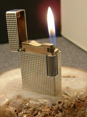 £120 • Buy S T  Dupont L1 BS Small Dogtooth Silver, Fully Serviced.
