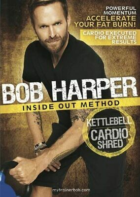 GoFit GoFit Bob Harper Inside Out Method – Kettlebell Cardio Shred Workout DVD • 30.97£