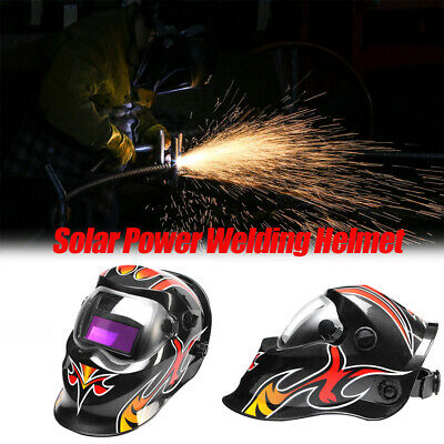 $ CDN34.35 • Buy Solar Power Auto Darkening Welding Helmet Arc Tig Mig  Grinding Welder