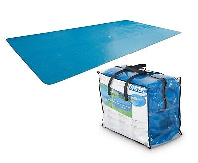 £49.99 • Buy Intex SOLAR COVER 4m X 2m Rectangular Prism Frame Swimming Pool Protect Warm Up