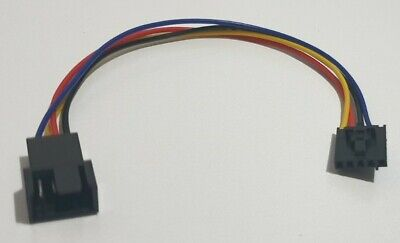 £4 • Buy 5 Pin To 4 Pin Fan Dell Connector Adapter Converter Cable Wire