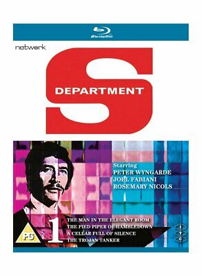 £9.50 • Buy  Department S. Jason King, Vol 1 - 4 Episodes. Blu Ray New & Sealed. All Regions