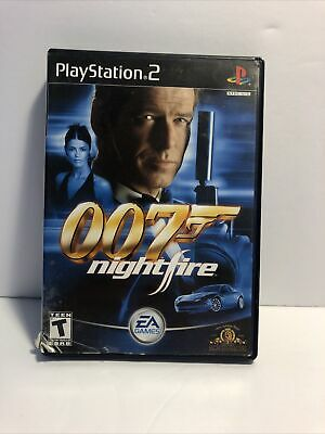 $9.99 • Buy 007: NightFire (Sony PlayStation 2, 2002) Complete In Box