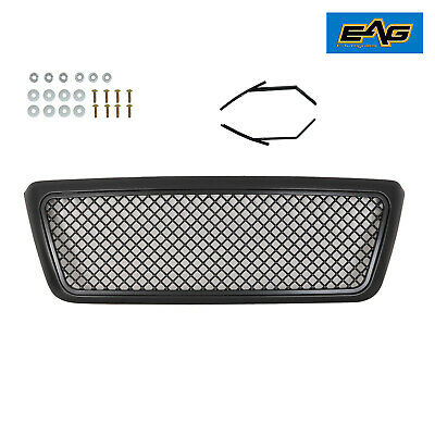 $107.99 • Buy EAG Mesh Replacement Grille Upper Full Grill Black Fit  2004-2008 Ford F150