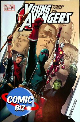 £7.99 • Buy Young Avengers #2 (2005) 1st Printing Bagged & Boarded Marvel Comics