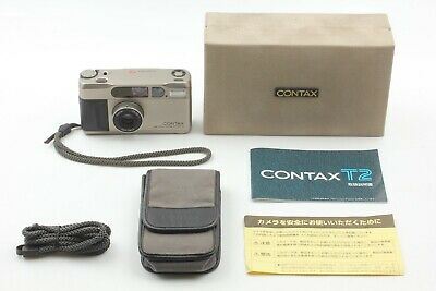 $ CDN1448.52 • Buy ***Mint*** Contax T2 Point & Shoot Film Camera In Case From Japan
