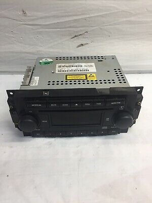 $60 • Buy 2005 Jeep Grand Cherokee Am Fm CD Single Disc Radio Stereo
