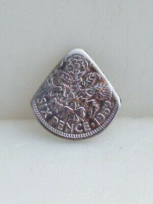 £4 • Buy Genuine 1962 UK  Sixpence Coin Pick Electric Acoustic Guitar.*BRIAN MAY.*QUEEN*