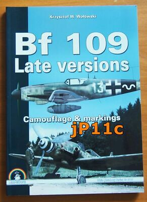 £22.82 • Buy Bf 109 Late Versions. Camouflage & Markings - MMP  (White Series)  RARE!!