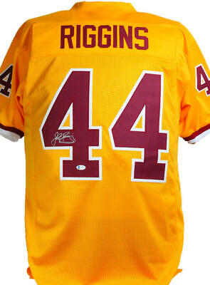 $ CDN274.45 • Buy John Riggins Autographed Yellow Pro Style Jersey- Beckett W *Silver