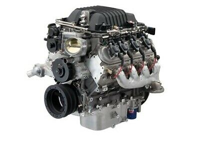 AU18500 • Buy Genuine Chevrolet Performance LSA 6.2L Supercharged Crate Engine For Hot Rods