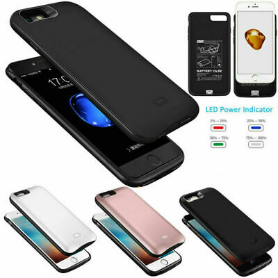 AU23.99 • Buy External Battery Case PowerBank Pack Charging Cover For IPhone6 6S 7 8Plus X XS