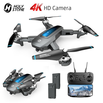 Holy Stone HS240 Foldable RC Drone With 4K HD Camera Quadcopter FPV 2 Batteries • 59.99£