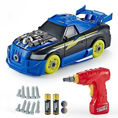 £19.95 • Buy Think Gizmos Take Apart Toy For Kids - Build Your Own Turbo Racing Car TG726