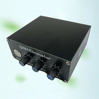 $ CDN71.39 • Buy QRM Eliminator X-Phase 1-30 MHz 1MHz To 30MHz Built-in PTT Control Black