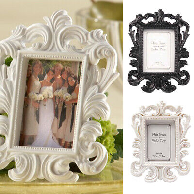 £4.79 • Buy Baroque Shabby Chic Photo Frame Vintage Rococo Style Wedding Gift Placecard Home