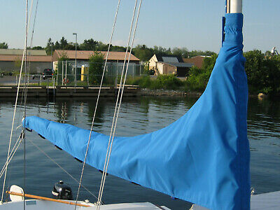 $185 • Buy Mainsail Cover Catalina 22 Pacific Blue Fits Boom 9.5 To 10 Feet
