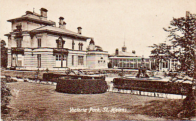 £2.75 • Buy Liverpool  St. Helens  Victoria Park - Posted 1919 Clean Postmark