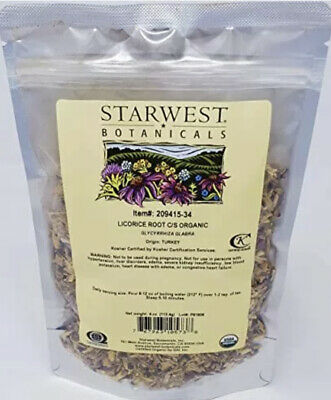 Starwest Botanicals Organic Licorice Root Tea Loose Cut And Sifted, 4 Ounces • 9.16£