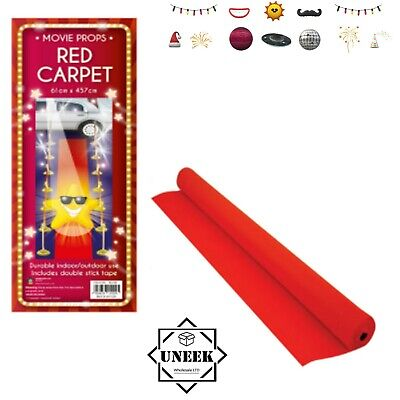 £7.50 • Buy Red Carpet Parties Floor Roll Prom Birthday Party Movie Prop Decoration  H14120