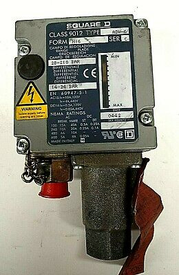 AU48.50 • Buy Square D Pressure Switch ADW6 Class 9012 1390PSI On Decreasing