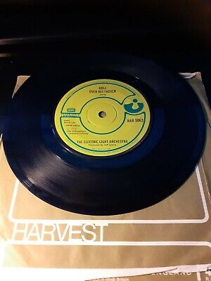 £4.95 • Buy Electric Light Orchestra Elo Roll Over Beethoven / Queen Of The Hours Harvest Ex