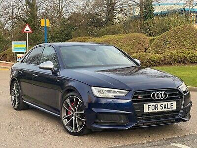 2017 67 Audi S4 3.0 Tfsi S Tronic Damaged Repaired Cat S/n/d Huge Spec May Px • 21,995£