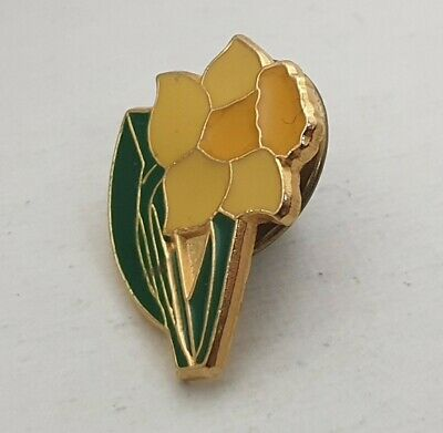 £5.99 • Buy Welsh Daffodil Pin Badge Lapel Brooch Wales Spring Narcissus Great Britain