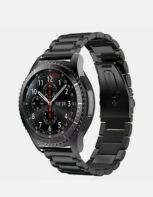 Samsung Galaxy Gear S3 Frontier Smartwatch. Carefully Used. All Accessories- • 200£