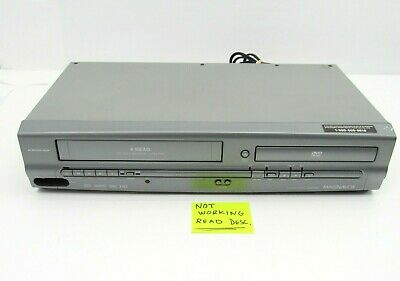 $ CDN36.22 • Buy Magnavox DVD VCR VHS Combo Player FOR Parts/Repair MWD2205 NO Remote AS-IS