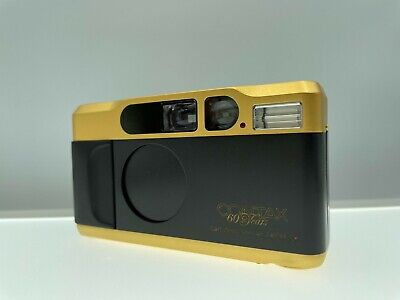 $ CDN1782.12 • Buy ***Opt Mint*** Contax T2 60 Years Gold Point & Shoot Film Camera From Japan