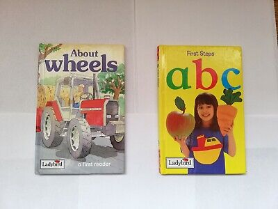 £4 • Buy About Wheels A First Reader & Abc First Steps Ladybird Books Good/Carefully Used