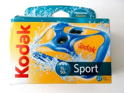 £5.67 • Buy Kodak Sport Underwater - Waterproof Disposable 35mm Sport Camera