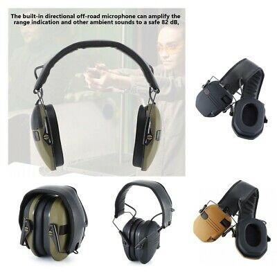 £32.15 • Buy 22 DB Noise Reduction Safety Shooting Ear Muffs Hearing Protection Ear Defenders