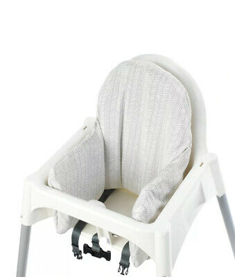 £9 • Buy 💙IKEA Antilop Highchair Cushion Cover Reversible Grey Yellow And Insert! )💙
