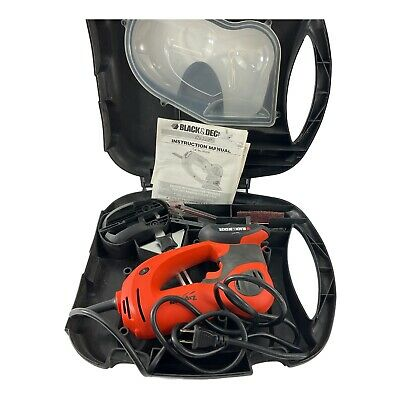 £30.71 • Buy Black & Decker Zip Saw Multi Project Tool Model HS600 With Carrying Case