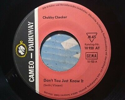 £9.22 • Buy Chubby Checker - Don't You Just Know It - Cameo Parkway 10 920 AT 🔊