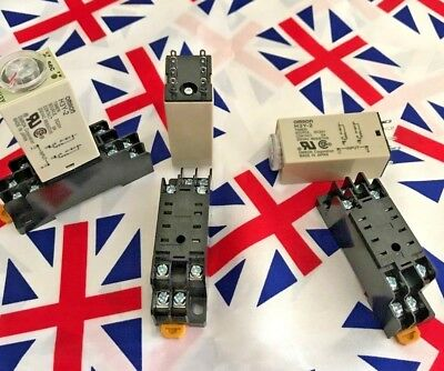 £6.98 • Buy ⭐⭐ H3Y-2 12V 0-60m Power On Delay Timer Time Relay ⭐⭐ Base 60 Minutes ⭐⭐