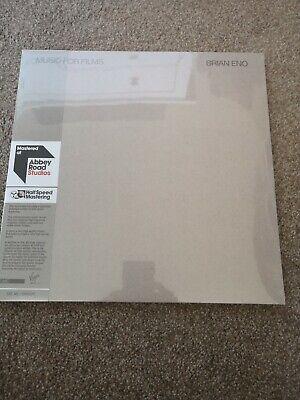Brian Eno Music For Films-Vinyl 2LPs Half Speed Master Abbey Road Roxy Music • 17.99£