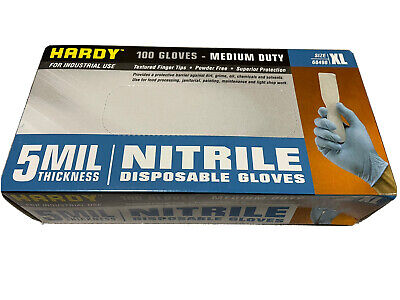 $ CDN24.28 • Buy Hardy 68498 Nitrile Gloves 5 MIL Strong Extra Large - XL - Powder Free 100